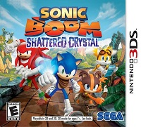 Sonic Boom : Shattered Crystal 3DS