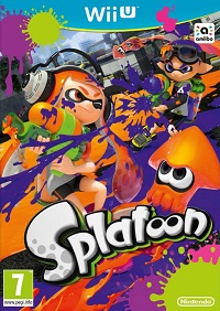 Site internet de Splatoon Wii U