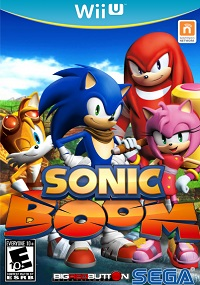 Sonic Boom Rise of Lyric Wii U