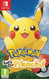 Pokemon Let's Go Pikachu and Let's Go Evoli
